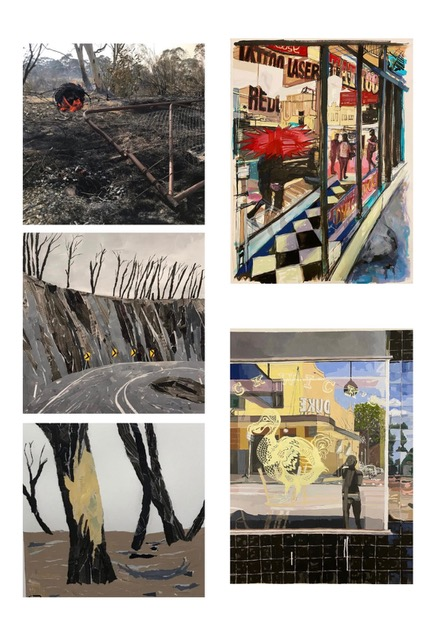 'After the Fires' Ray Monde and 'Compendium' Matthew Fennelly
